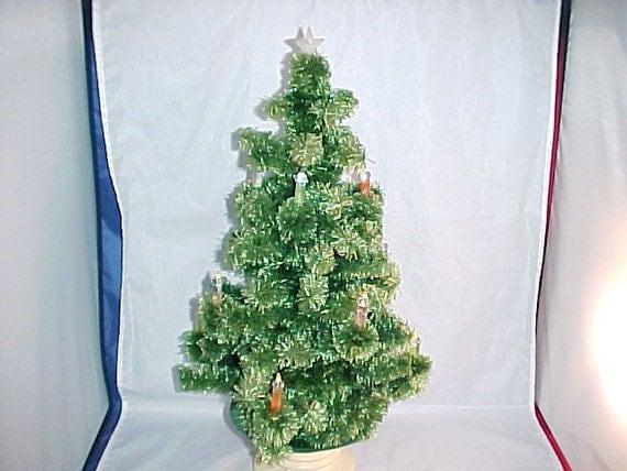 Vintage 1940s Table Top Christmas Tree
