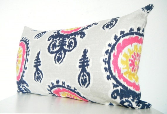 Navy And Pink Decorative Pillows: Unavailable Listing On Etsy