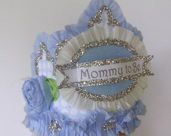 Baby Shower Crown, baby shower hat, mommy to be hat, mommy to be crown, customize