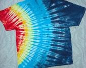 Special order BAREFOOTGIRL Tie Dye FOTL V Neck right side SOLAR xl