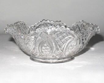 Beautiful Pressed Glass Dish