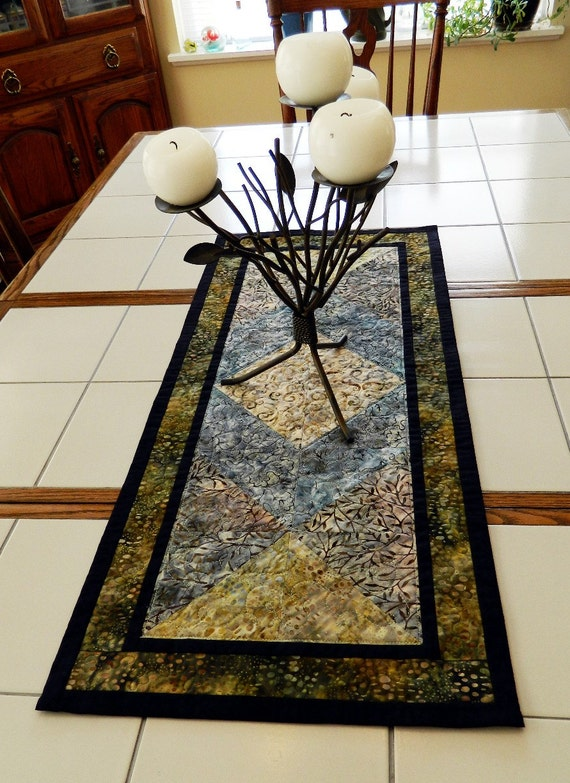 Simply Elegant Batik Series Table Runner