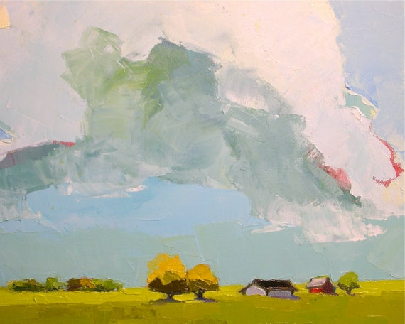 Pastures of Heaven, Oil Painting