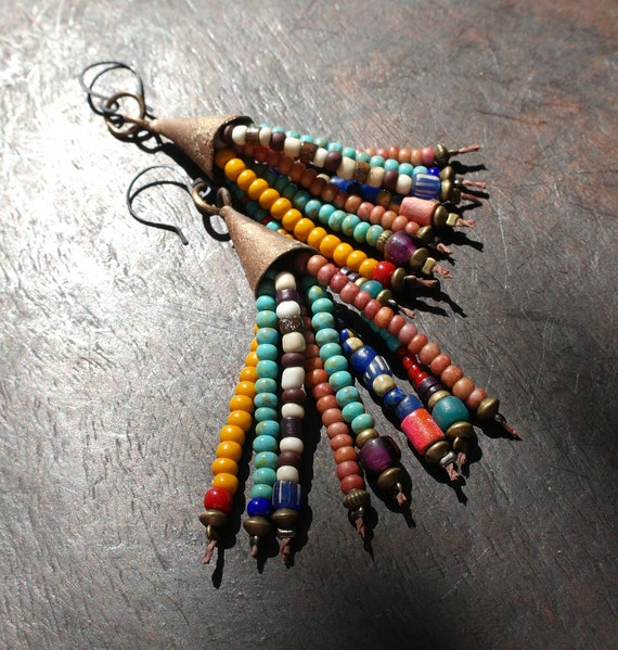 Faded Fairground - Earrings