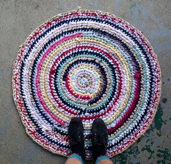 Circus Recycled Rag Rug