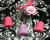 10 Nail Polish Soap Party Favors for Girls Glamour Makeup Spa Sleepover Kids Party Favor