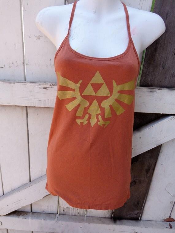 Triforce eagle Legend of Zelda ginger cami Spaghetti Strap