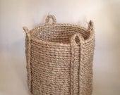Woven Basket / Extra Large East Hampton Basket SALE