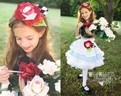 Alice in Wonderland inspired Rosie Hair Headband, Made to Order