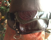 Custom Pocket Belt Example, for Traveling and Beyond