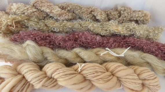 Assorted Mohair Boucle Mini skeins Yarn No.120