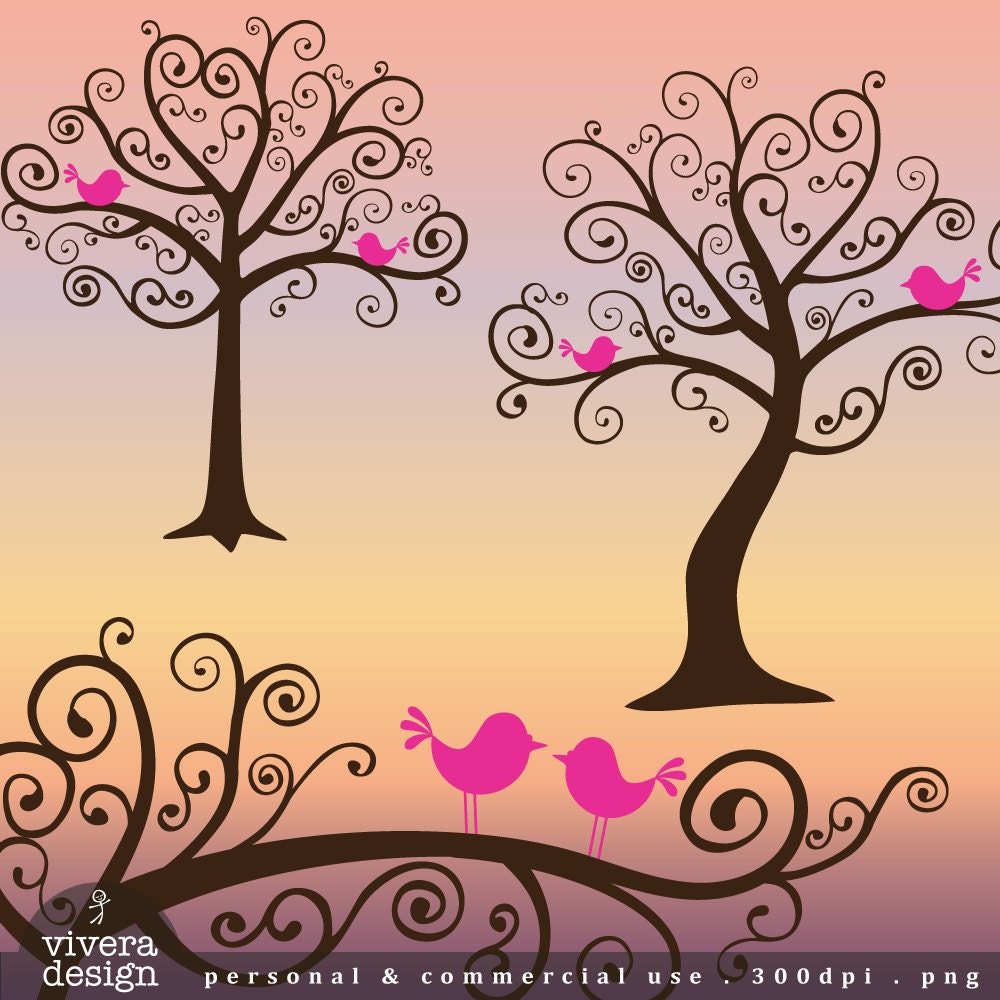 whimsical christmas tree clip art free - photo #42