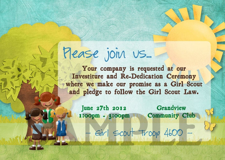 home images daisy investiture ceremony invitations daisy investiture ...