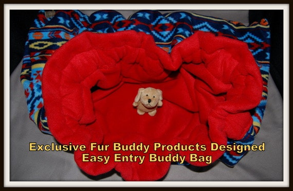 "Fur Buddy Products Exclusive and Original Design Easy Entry Buddy Bag Medium 32""D x 27"" W"