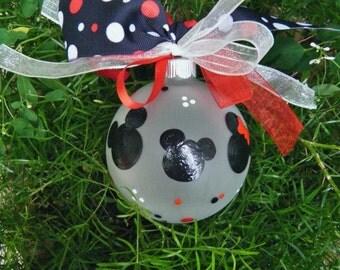 Disney Family Ornament -  Personalized Ornament - Custom Disneyworld Christmas Ornament, Family Vacation Disneyland, First Disney Trip