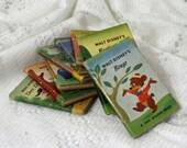 Vintage 1950 Walt Disney's Tiny Movie Stories books with box