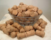Champagne Wine Corks For Crafts - Lot of 100