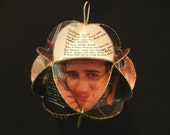 Rod Stewart Album Cover Ornament Made Of Record Jackets