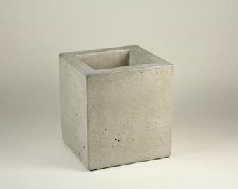 Square Concrete Container