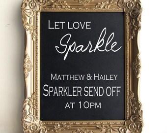 Framed CHALKBOARD Wedding Sign with EASEL Sign Antique Gold Bar Menu Drink Menu Magnetic Chalk Board Kitchen Reminders - MORe COLORS