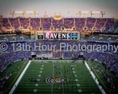 Baltimore Ravens Stadium Art Print