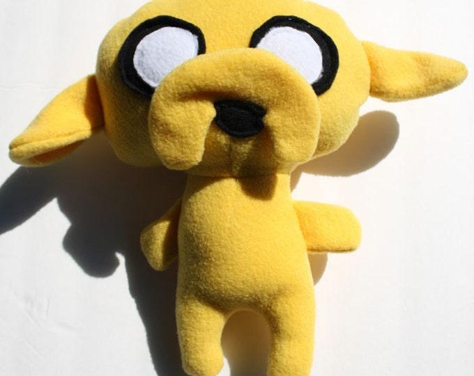Jake Adventure Time Original Fan Art Plush