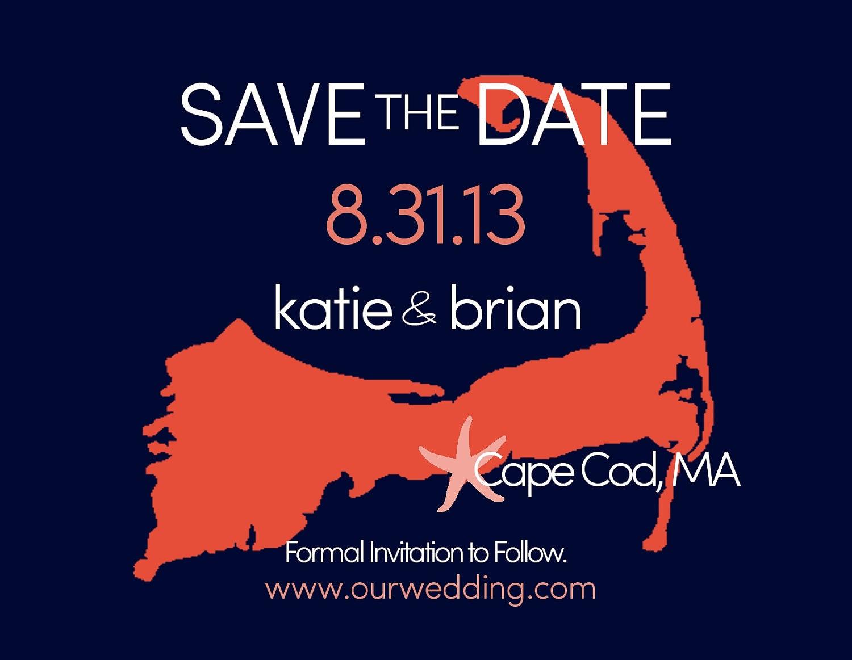 Beach Wedding Save the Date Magnet for Destination Wedding 4 x 5 ...