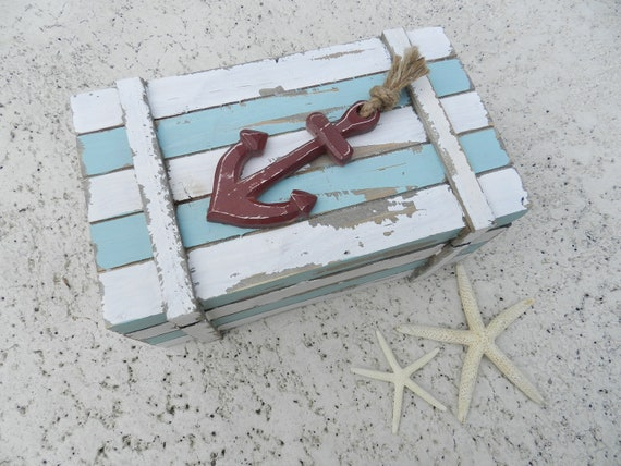 Alternative Ring Bearer Box for a Beach or Nautical Wedding