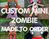 "Custom Made 16"" Mini Zombie Orphan Doll"