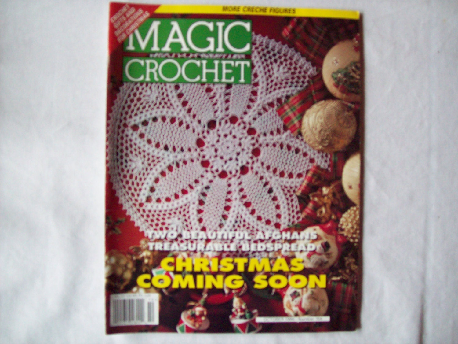 Magic Crochet Magazine October 1996 issue 104 by CozyHomeCrochet
