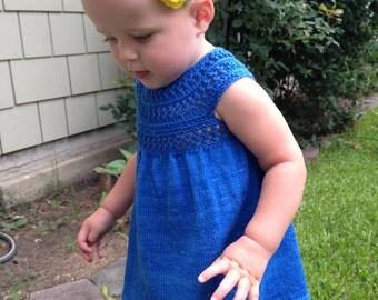 Mischa Baby Dress PDF pattern newborn, 3, 6, 9, 12, 18 months 2T 3T
