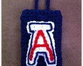 Iphone / Ipod / Cell Phone Carrier Arizona U of A Wildcats Handmade Crochet