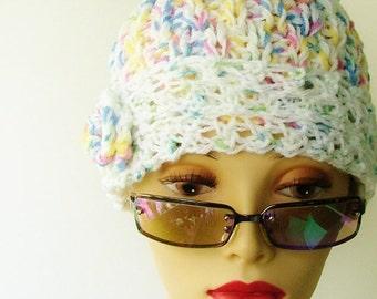 Shabby Chic Pastel Snug Cap