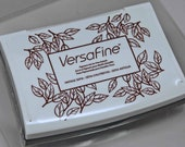 VersaFine Stamp Pad -- Vintage Sepia Brown -- No Refill Needed Long Lasting Captures fine details like no other