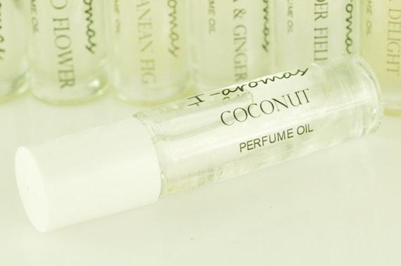 Coconut -  Roll On Perfume,Fragrance Oil, Womens fragrance,