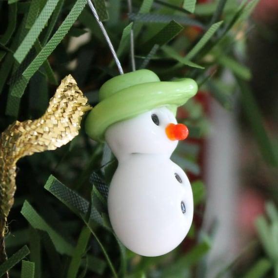 Snowman Christmas Tree Oranment named Mary