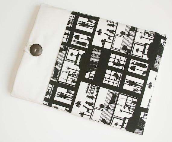 ipad case sleeve for ipad 2, new ipad -padded sleeve -HOUSE