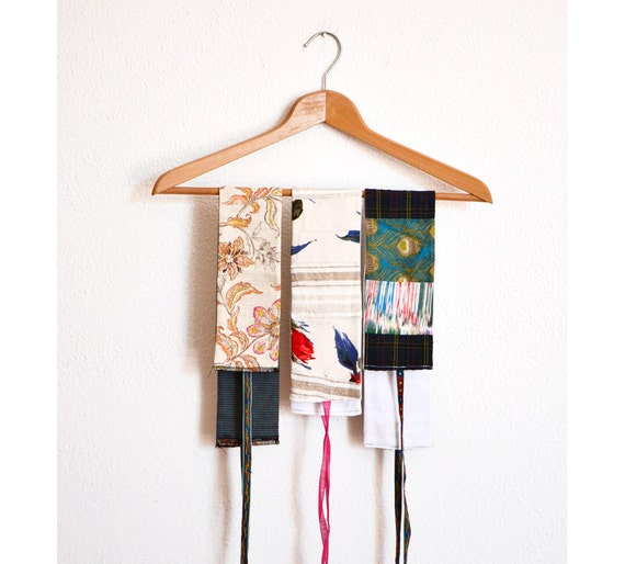 Obi Belt patchwork in many colours and fabrics