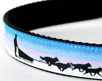Husky Dog Sled Dog Collar / 1 inch width / Big Dog Collar