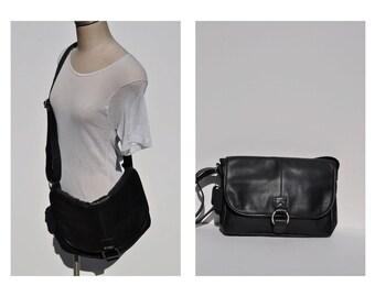 vintage leather bag satchel briefcase tote messenger bag laptop ipad