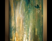 Modern Abstract Art -  Into the Deep -  Archival photo Print Reproduction Art by JessicaOart