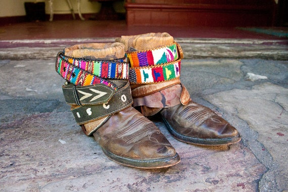 UPCYCLED Vintage REWORKED cowboy boots