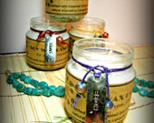 Soy Wax & Essential Oil Candles Choose your Scent custom label options for party favors avail