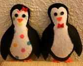 Love Is For the Penguins Felt Friends