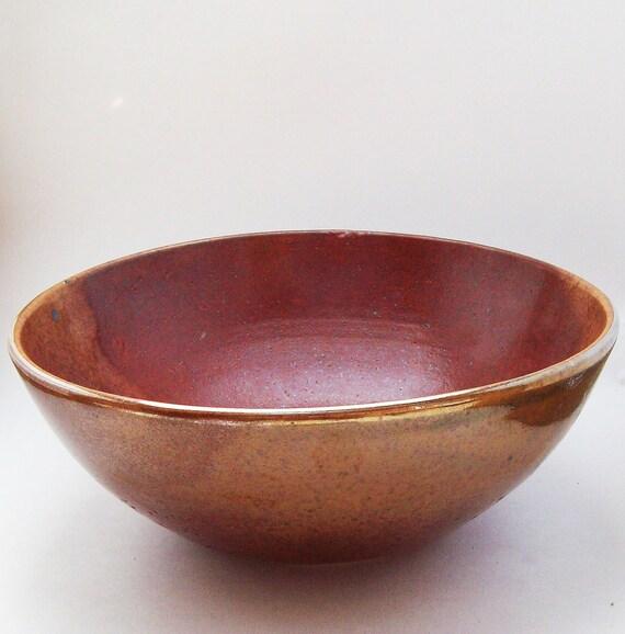 Gold Shino Bowl