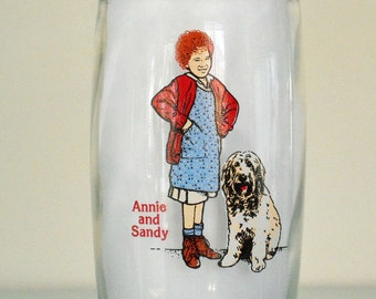 Vintage Glass Annie and Sandy