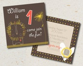 birthday invitation- william