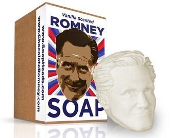 Vanilla Scented Mitt Romney Soap Head - The Perfect Political Gift