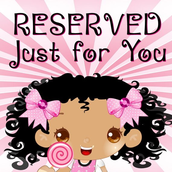 Reserved Listing for Wasabi2623
