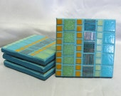 Under Water Inspired Coasters Set